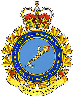 Unit crest Canadian Forces Crypto Support Unit.jpg