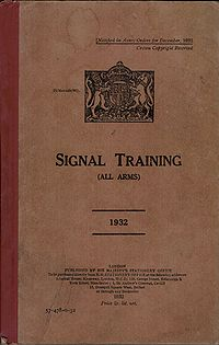 Signal Training (All Arms) 1932 - Title page.jpg